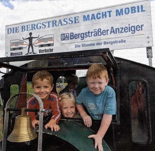 Bergsträßer Anzeiger 25.8.2008 Werbeschild