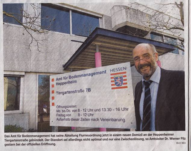 Bergsträßer Anzeiger 19.3.2008 Werbeschild