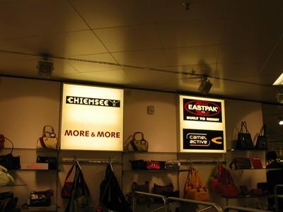 Leuchtkästen-Werbung für Verkaufsräume