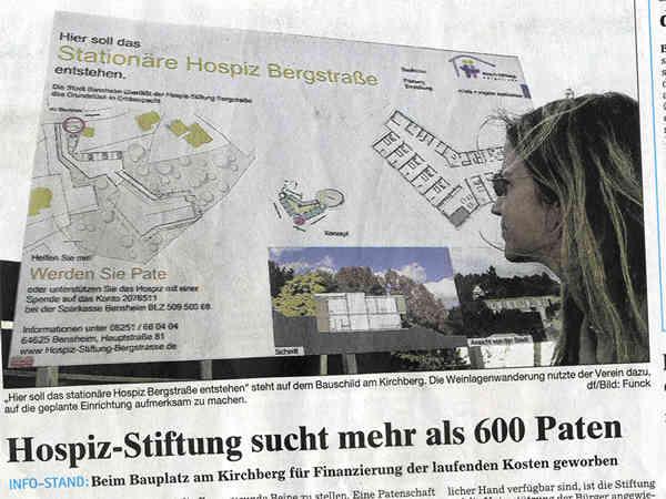 Bergsträßer Anzeiger 03.05.2006 Bauschild