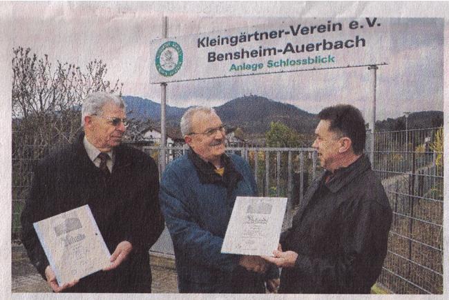 Bergsträßer Anzeiger 25.3.2008 Werbeschild