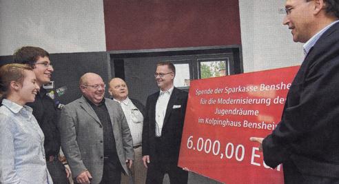 Bergsträßer Anzeiger 13.7.2009 Werbeschild