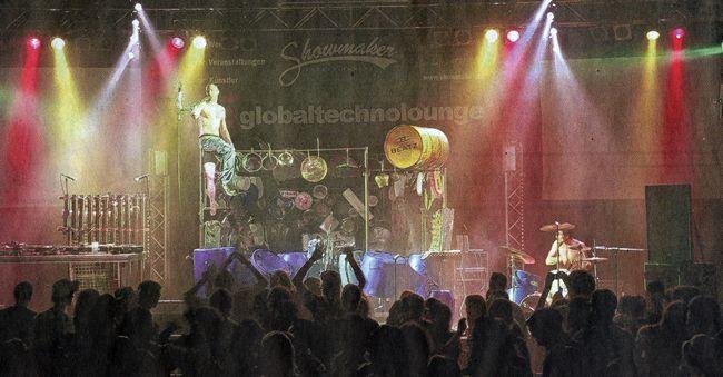 Bergsträßer Anzeiger 19.11.2008 Werbebanner im Hintergrund