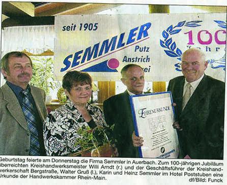 Bergsträßer Anzeiger 02.06.2006 Werbebanner