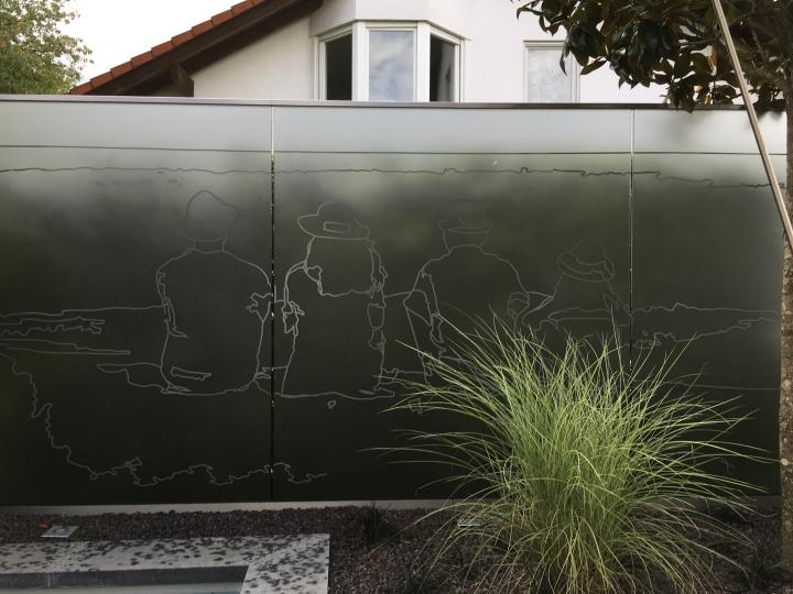 Outdoorfolien auf Glas