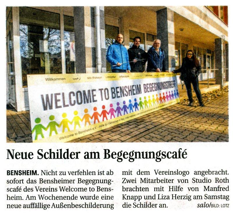 Schild Bergsträßer Anzeiger 2.3.16